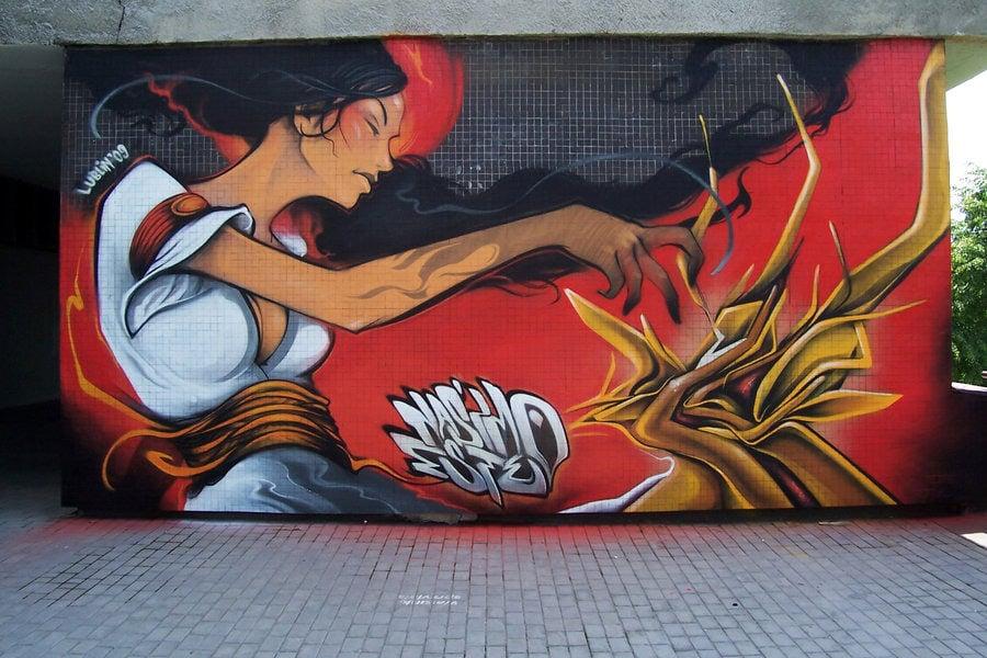 3d street art painting12
