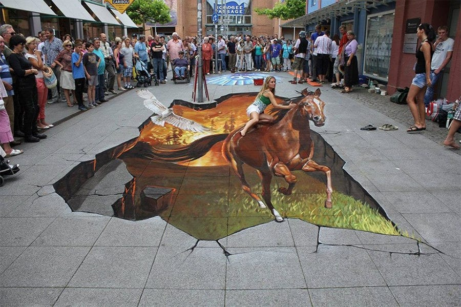 3d street art painting19