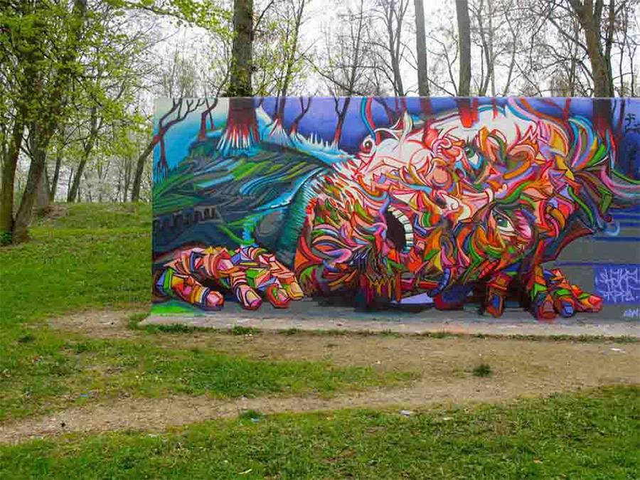 3d street art painting22