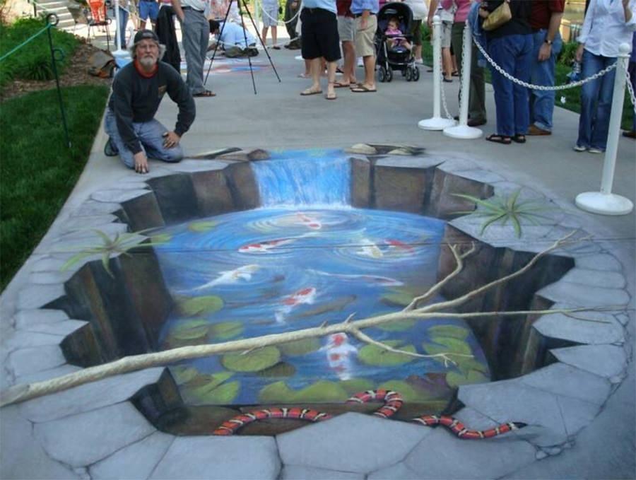 3d street art painting23