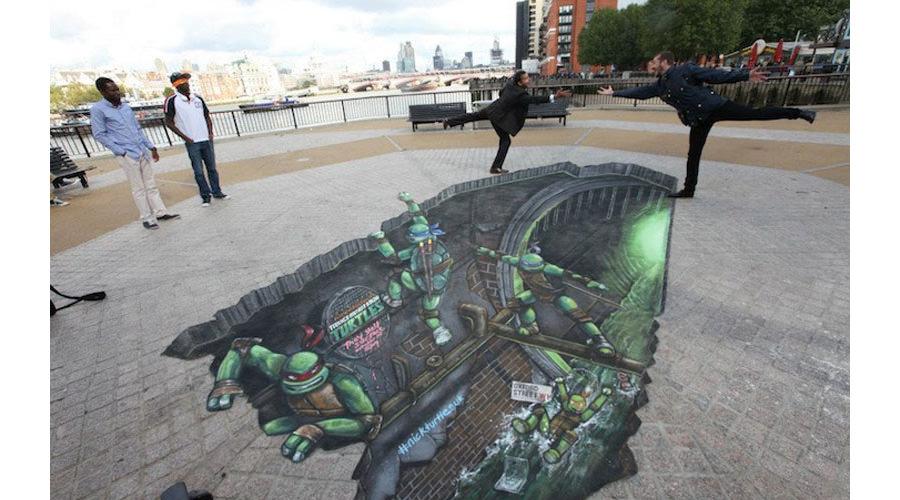 3d street art painting27