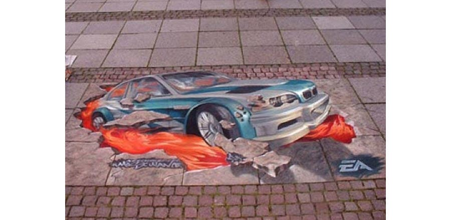 3d street art painting29