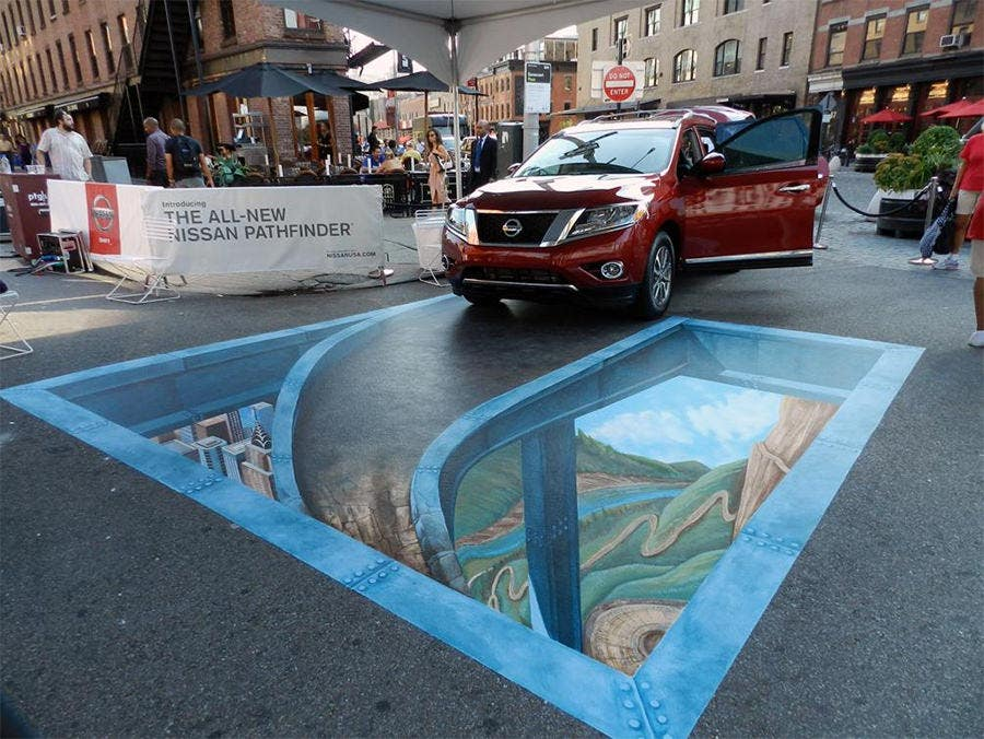 3d street art painting3