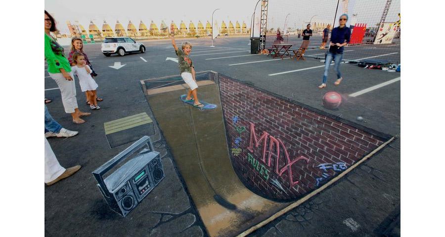 3d street art painting30