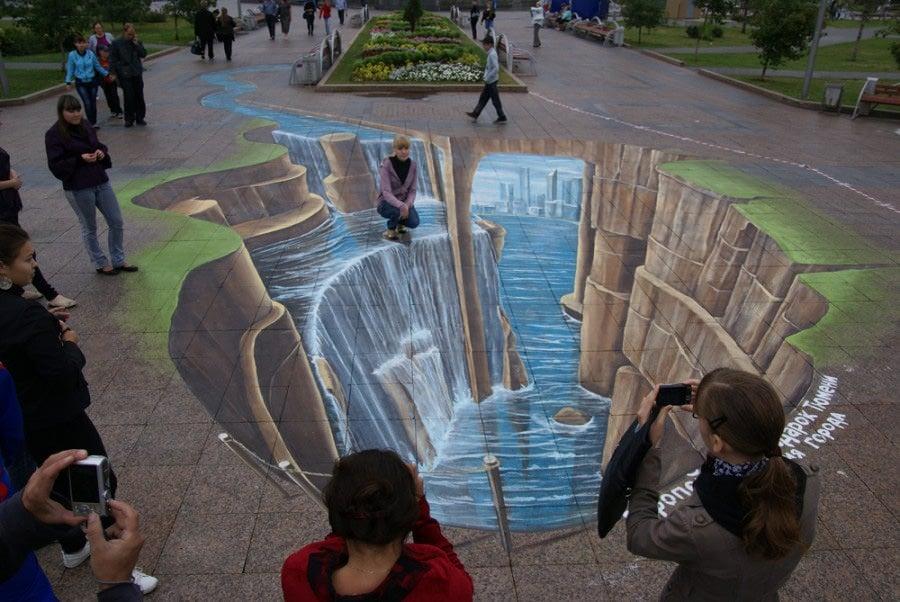 3d street art painting51
