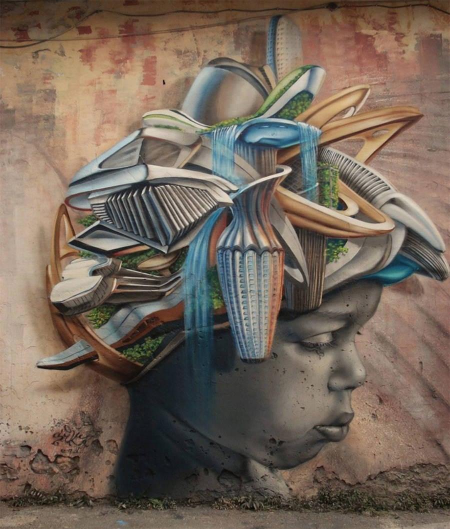3d street art painting6