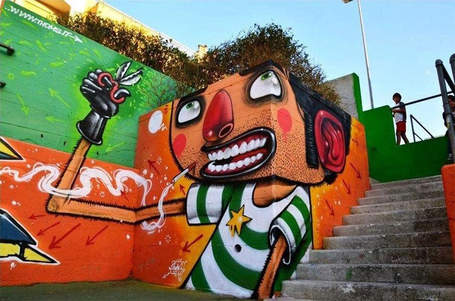 3d street art painting7