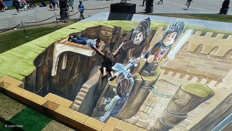 3d street art painting8