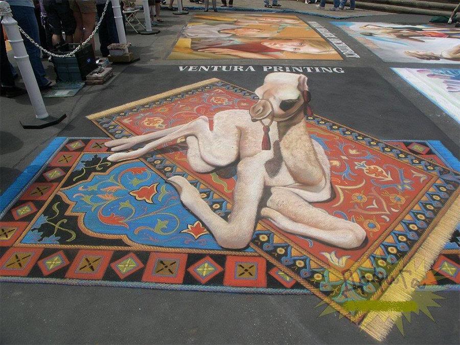 3d street art painting9