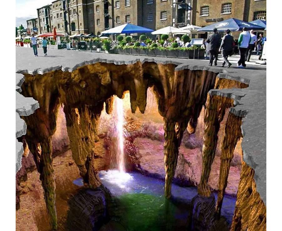 3d street art by edgar muller mysterious caves 1 copy
