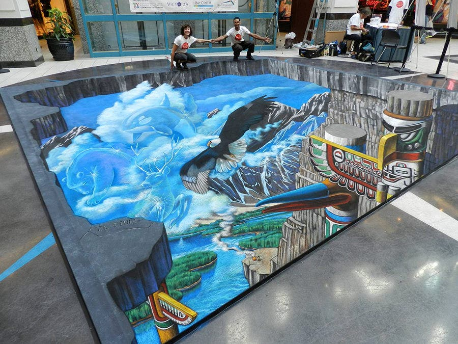 3d street art chalk painting interactive tracy lee stum 9 copy