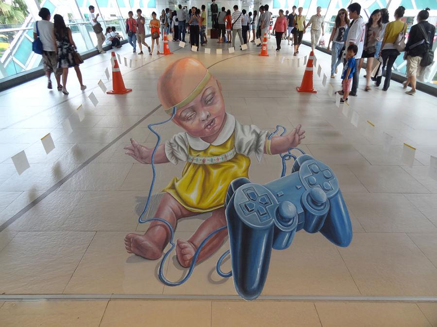 3d street art bangkok copy