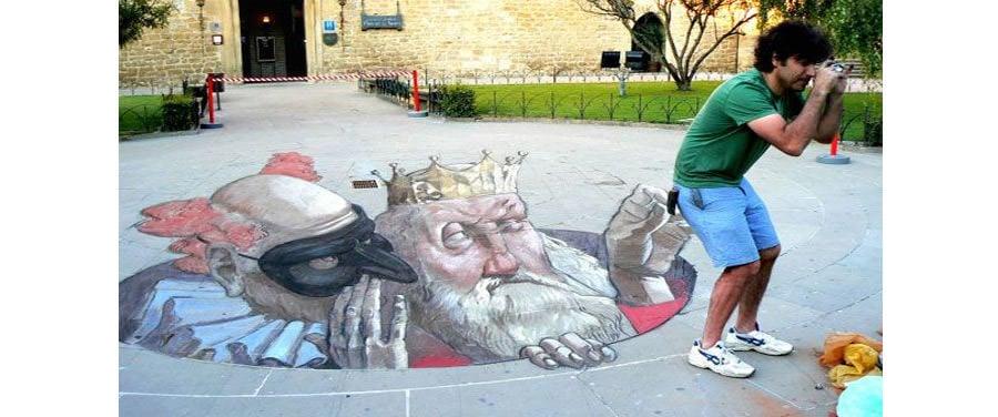 3d street art illusions