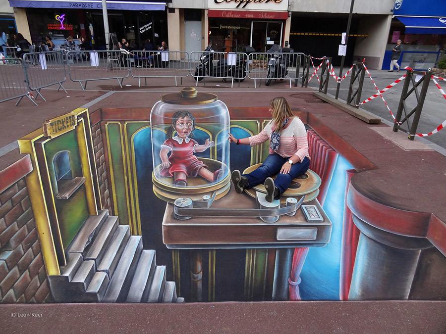3d street art paris copy