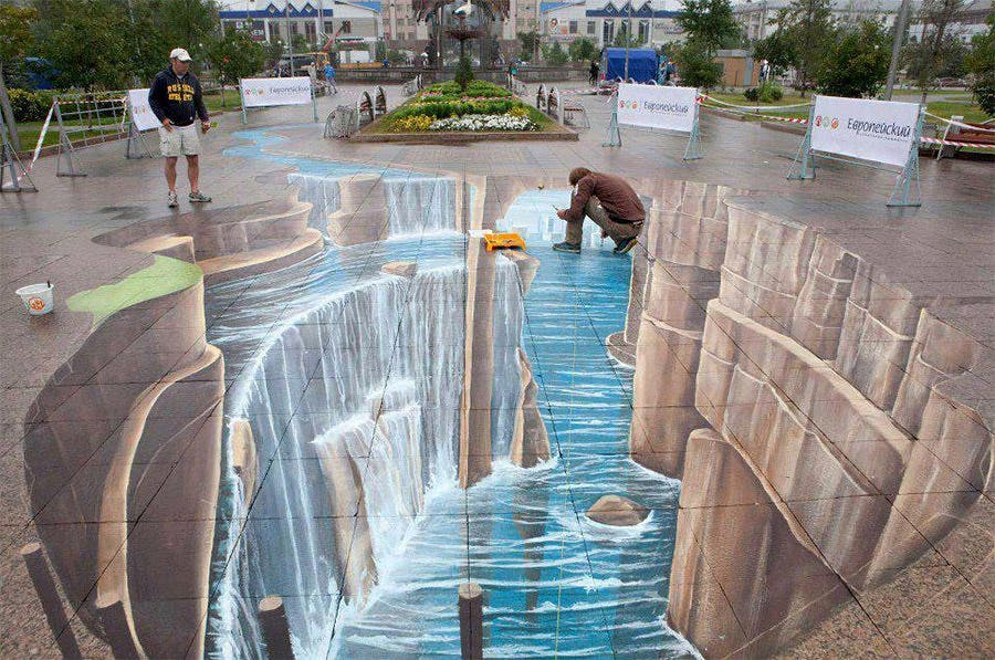 100+ Amazing Street Art Paintings with 3D Effects | Free & Premium ...