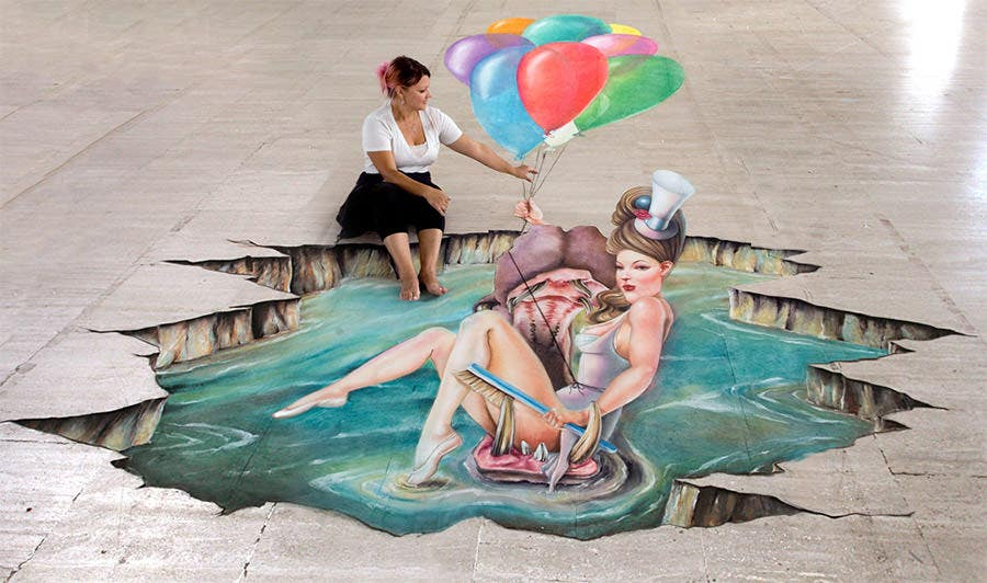 3d street painting1
