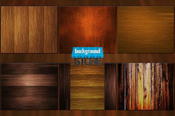 50 Wooden Background Textures by BackgroundStore