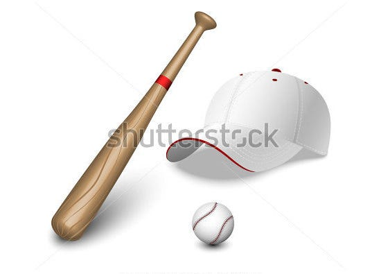 a set of baseball bat