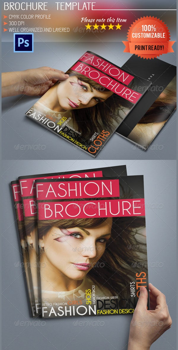 Fashion Brochure Template   Free Psd Eps Ai Indesign Format