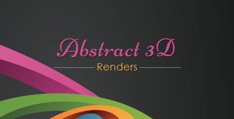 abstract3drenders