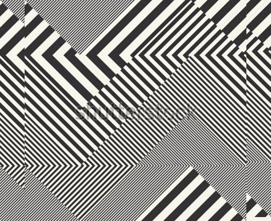 abstract striped textured geometric seamless pattern