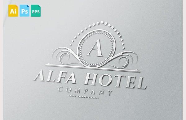 AlfaHotel Logo
