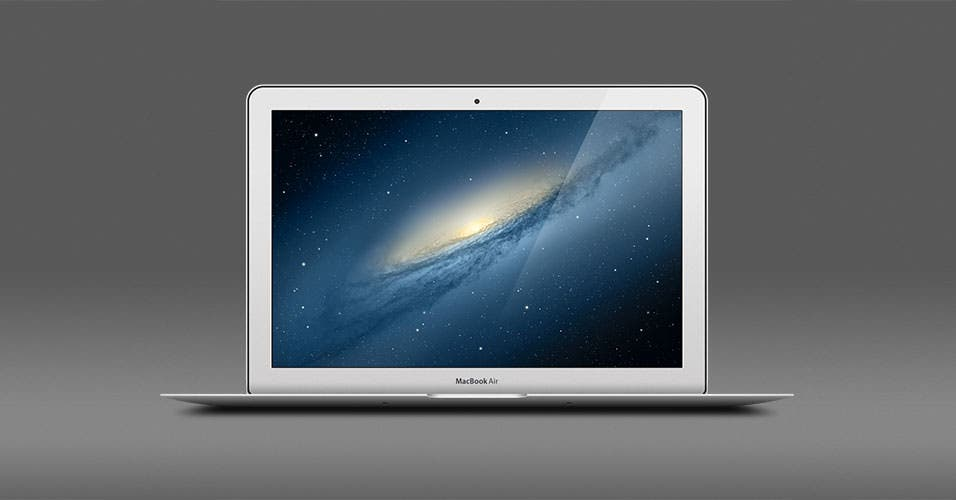 Apple-Macbook-Air-Free-PSD