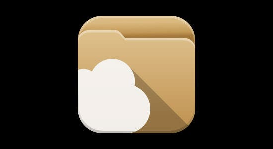 apps folder cloud icon