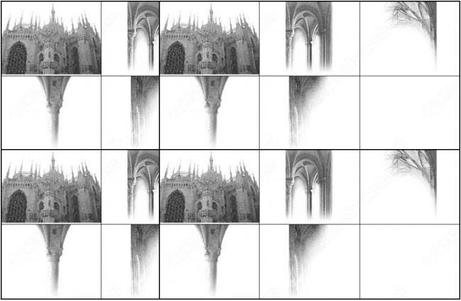 architecture photoshop brush set