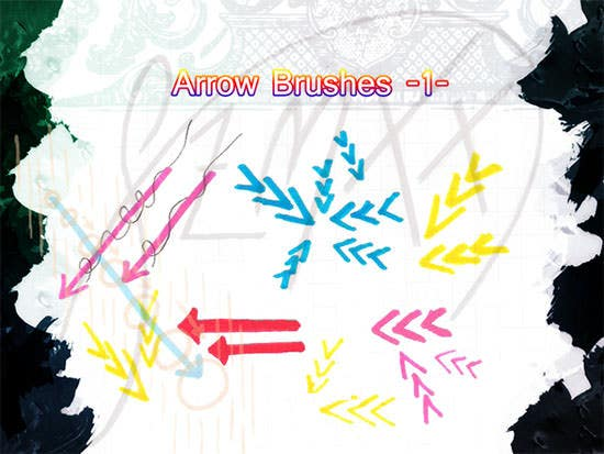 arrow brushes 3