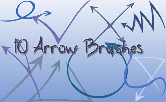 arrow brushes 2