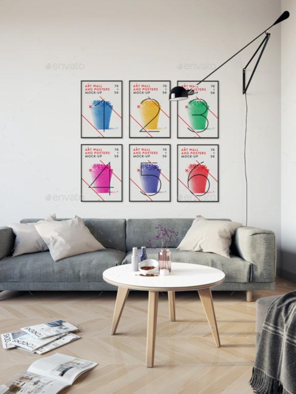 art wall poster