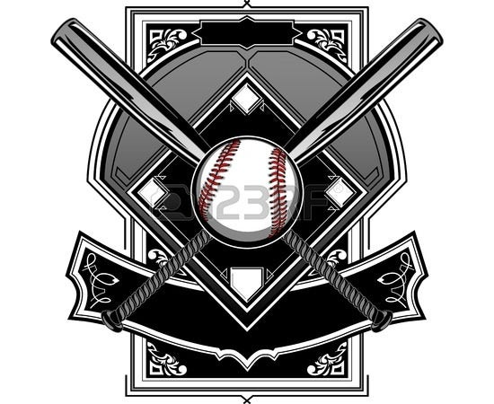 baseball bat vector 7