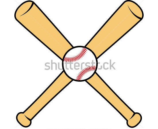 baseball bat vector 10