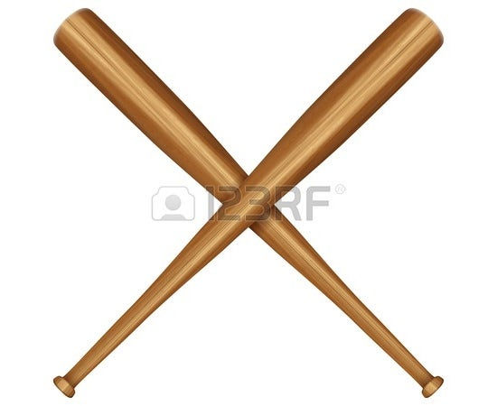 baseball bat vector 6