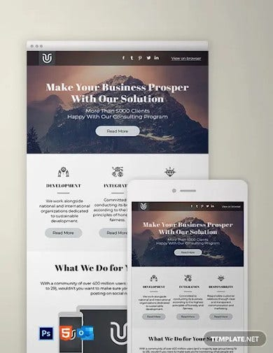 basic newsletter template