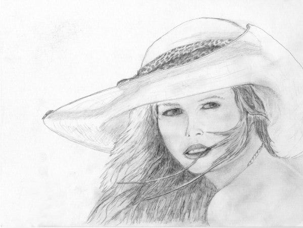 100 amazing collection of best face sketches gallery collection