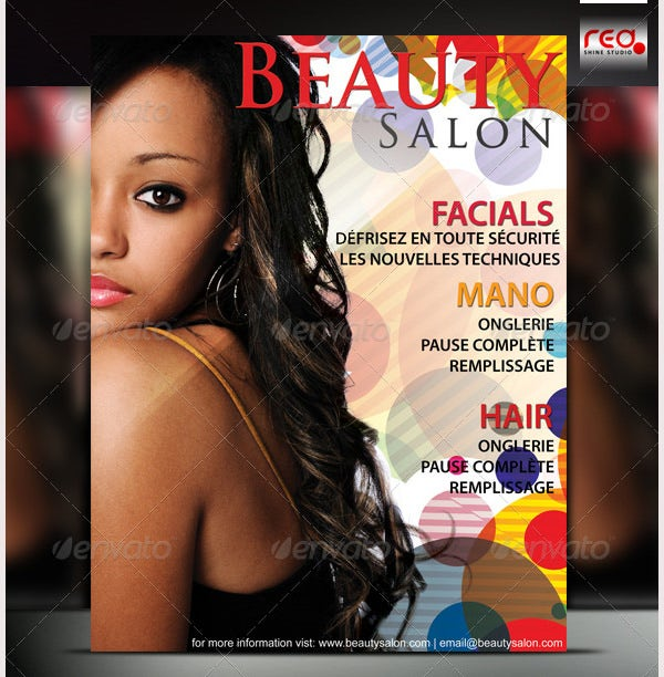 Beauty Salon Poster/Flyer Template