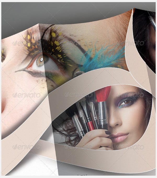 beauty salon trifold brochure1