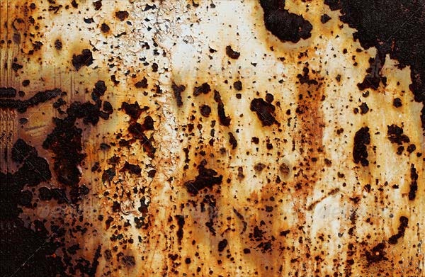 brown rust texture
