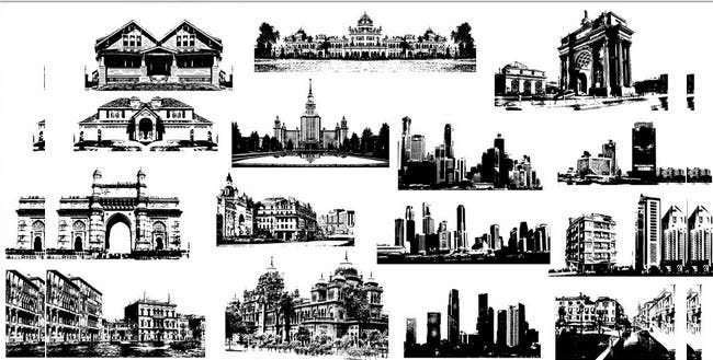 buildings brush pack