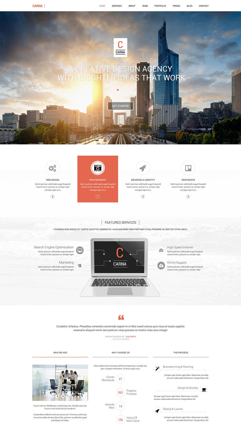 Landing Page Template – 90+ Free PSD Format Download | Free ...