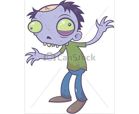 cartoon zombie 3