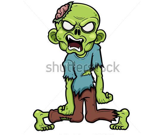 cartoon zombie 2