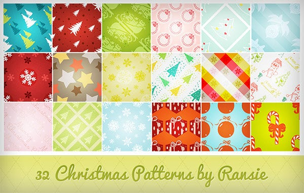 christmas patterns2