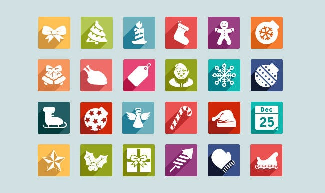 christmas ui icons pack