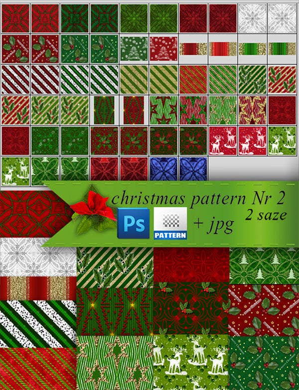 christmas patterns nr