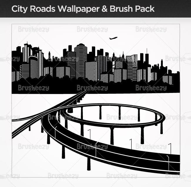 city roads brush pack