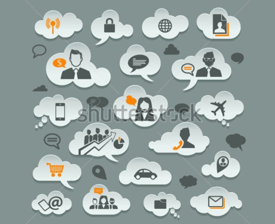 cloud storage with different communication