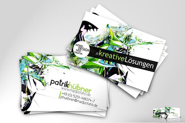 collectible business card
